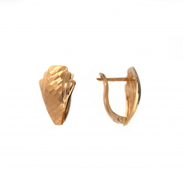 Rose gold earrings BRA02-09-04