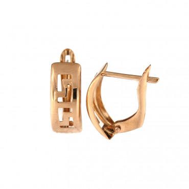 Rose gold earrings BRA06-05-19