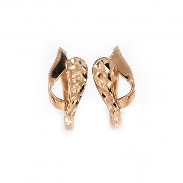 Rose gold earrings BRA06-06-02